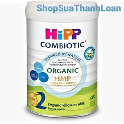 Sữa bột HiPP Combiotic Organic HMP Số 2 800gr