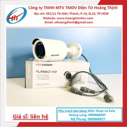 Camera hồng ngoại 2Mpx 1080p Hikvision DS-2CE16B2-IPF - Hàng chính hãng