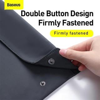 Túi xếp vải dù, chống thấm Baseus Folding Series Laptop Sleeve dùng đựng Macbook Tablet Samrtphone và Phụ kiện - LBZD-B0G 5