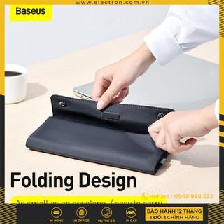 Túi xếp vải dù, chống thấm Baseus Folding Series Laptop Sleeve dùng đựng Macbook Tablet Samrtphone và Phụ kiện - LBZD-B0G 1