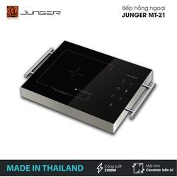Bếp đơn hồng ngoại Junger MT-21 - Công suất 2200W - mặt kính Ceramic - Bảo hành 12 tháng chính hãng - MADE IN THAILAND