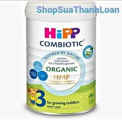 Sữa bột HiPP Combiotic Organic HMP Số 3 800gr