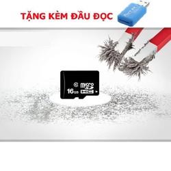 thiết bị lưu trữ - thẻ nhớ 16gb hàng chính hãng - tốc độ chuẩn - class 10 micro sdhc