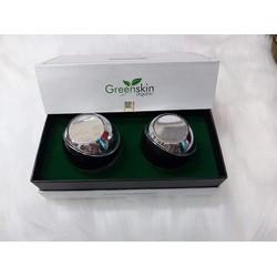 Greenskin Organic bộ dưỡng trắng da mặt đa chức năng ngày và đêm 20g x 2
