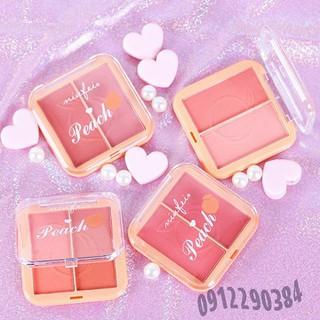 Phấn má hồng 2 ngăn Minfei Peach hàng Nội Địa Trung - TDD0007 thumbnail