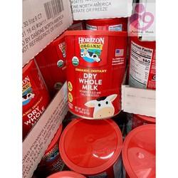 Sữa tươi dạng bột Horizon organic Mỹ đi air