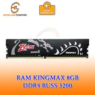 Ram 8GB Kingmax Zeus DDR4 3200MHZ Tản Đen Viễn Sơn Phân phối - LKRAM036 thumbnail