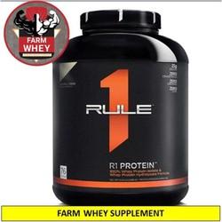 FARM WHEY SHOP  DEAL SÔC -  Rule 1 Protein 5Lbs - Sữa tăng cơ Rule1 - Whey Protein R1