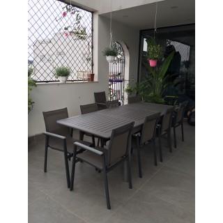 Bộ bàn ghế nhôm đúc (hình chữ nhật-8ghế) - bobanghe14 thumbnail