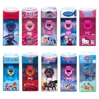 Đồng hồ điện tử hoạt hình chạy pin đeo tay cho bé - Tặng kèm pin - 5038777687 thumbnail