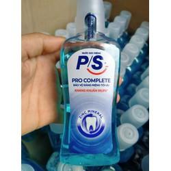 Nước súc miệng kháng 99% vi khuẩn P.S Pro Complete 130ml