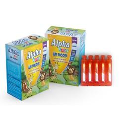 Siro Ăn Ngủ Ngon Alpha Kids Ăn Ngon- Giúp trẻ ăn ngon. ngủ tốt, bé thông minh- hộp 20 ống
