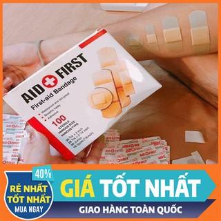 Băng keo cá nhân - 100 Miếng Băng Keo Cá Nhân CaUgo - BCNEG-1 thumbnail