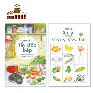 NXB Trẻ - Bộ Sách Ăn Lành Nấu Sạch (Bộ 2 Cuốn) Ăn gì cho không độc hại +Tẩy độc bếp Vì không thể sống mà không ăn gì - TRE64 thumbnail