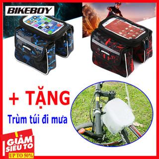 Túi để điện thoại trên xe đạp - Túi để điện thoại trên xe đạp mẫu 2 thumbnail