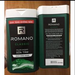 Sữa tắm hương nước hoa cao cấp nam Romano classic 150g