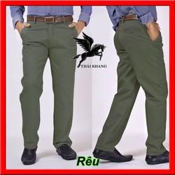 HÀNG XUẤT KHẨU quần kaki nam big size trên 90kg vải kaki DÀY ĐẸP mặc mát may bởi xưởng Thái Khang TKQ101