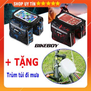 Túi treo sườn xe đạp chống nước - Túi treo sườn xe đạp chống nước mẫu 2 thumbnail