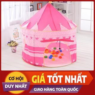 Lều chơi ngoài trời dành cho công chúa hoàng tử hình lâu đài - LBCCHT-1 thumbnail