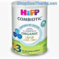 Sữa bột HiPP Combiotic Organic HMP Số 3 350gr