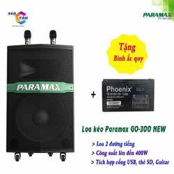 Loa kéo PARAMAX-GO 300 New Hàng Chính Hãng