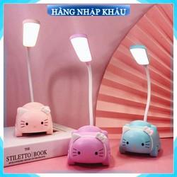 10 mẫu - Đèn học để bàn mini hình thú siêu dễ thương  đèn led mini để bàn tích điện tiện lợi
