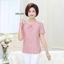 áo kiểu hồng