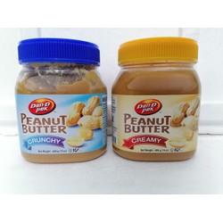 Bơ đậu phộng mịn / hạt DAN-D PAK Peanut Butter 400g
