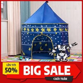 Lều hoàng tử công chúa hình dáng lâu đài cho bé - LBCCHT-1 thumbnail