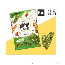 Bánh ăn kiêng Biscotti Motree dinh dưỡng từ nữ hoàng rau xanh Cải Xoăn ( Cải Kale) và Hạnh Nhân ( hộp 250gram)