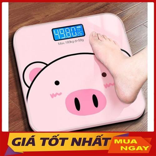 Cân sức khỏe - Cân sức khỏe điện tử (hình con lợn-sọc trơn) - cân con lợn- sọc trơn 21 thumbnail