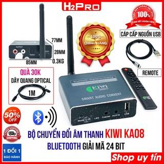 Bộ chuyển đổi âm thanh Optical KIWI KA08 H2Pro Bluetooth cao cấp, xuất âm thanh từ tivi ra loa, có điều khiển-USB (tặng dây quang 30K) - H2WW761 thumbnail