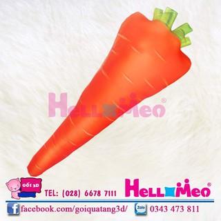 gối ôm đẹp hình củ cà rốt gối ôm 3d an toàn cho bé gối ôm cà rốt 60cm - CAROT - 60 thumbnail