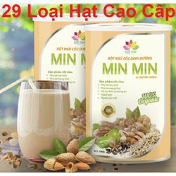 Combo 2 Hộp Ngũ Cốc Lợi Sữa Min Min    Bột Ngũ Cốc Lợi Sữa Minmin  Chính hãng 1 Kg