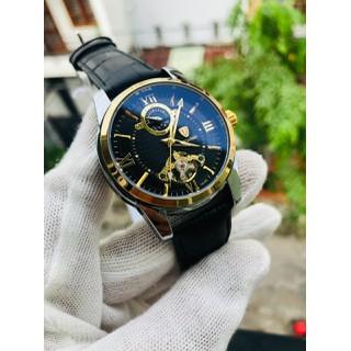 đồng hồ chính hãng đồng hồ nam đồng hồ cơ tvs dây da cao cấp - dh811 thumbnail