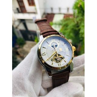 đồng hồ nam đồng hồ nam chính hãng cơ autoamtic TVS dây da cao cấp - dh61 thumbnail