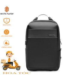 Balo nam, nữ sử dụng du lịch, đựng laptop, quân áo, ipab, chống thấm nước, thiết kế có cổng sạc USB Arctic Hunter - Chicagobulls