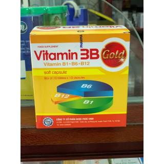 Vitamin 3B Gold bổ thần kinh, bổ khớp giúp giảm tê bì chân tay lưu thông máu tốt - 3B Gold Phúc Vinh thumbnail