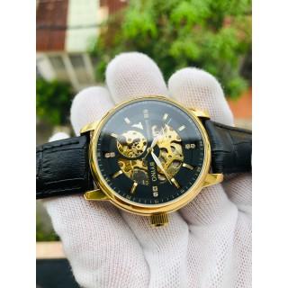 Đồng hồ nam đồng hồ cơ chính hãng byino dây da cao cấp [ĐƯỢC KIỂM HÀNG] - 41187414 thumbnail