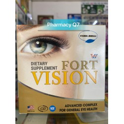 Viên uống bổ mắt VISION FORT hộp 60 viên