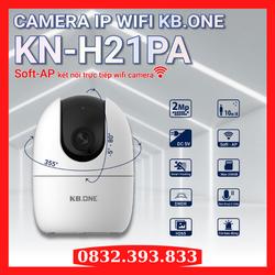 Camera IP Wifi 2.0Mp KB.ONE KN-H21PA, Hỗ Trợ Soft-AP Kết Nối Trực Tiếp WiFi Camera - Chính Hãng, Bảo Hành 2 Năm