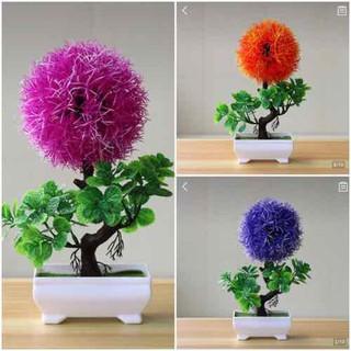 chậu cây bonsai giả để trang trí nội thất - BS020 thumbnail