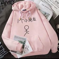 Áo khoác hoodie nam nữ thời trang Hàn Quốc, (L dưới 65Kg,XL 75Kg), áo thun nỉ nam nữ big size