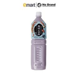 Nước Gạo Nếp Than Và Hạt Khô No Brand Hàn Quốc Chai 1.5L - Emart VN