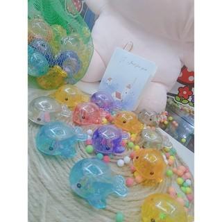 Đồ chơi cá con lấp lánh nhiều màu sắc thả bồn tắm cho bé - - dochoicacon1 3