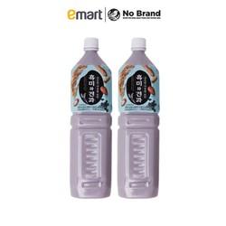 Combo 2 Chai Nước Gạo Nếp Than Và Hạt Khô No Brand Hàn Quốc Chai 1.5L - Emart VN