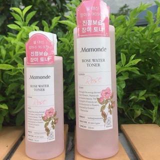 Nước Hoa Hồng Mamonde Rose Water Toner Hỗ Trợ Cấp Ẩm Mịn Da - 7843686437 thumbnail