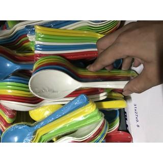 Thìa súp loại to cho bé từ 1 tuổi trở lên màu sắc cực đáng yêu kích thích ăn ngon - 2916042673 thumbnail