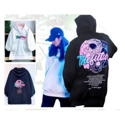 Áo khoác hoodie Chống Nắng Cho Nam Nữ Cho Cặp Đôi Có 2 Màu Chất Nỉ Unisex The Future Form rộng Ulzzang
