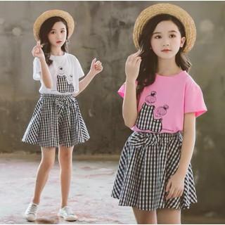 Set quần giả váy chiếc nơ xinh xắn cho bé gái 16-45kg - Set Nơ thumbnail